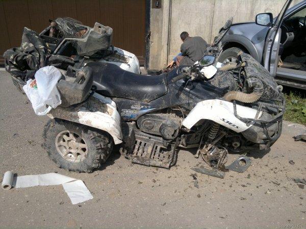 В ДТП с квадроциклом под управлением матери погиб ребёнок