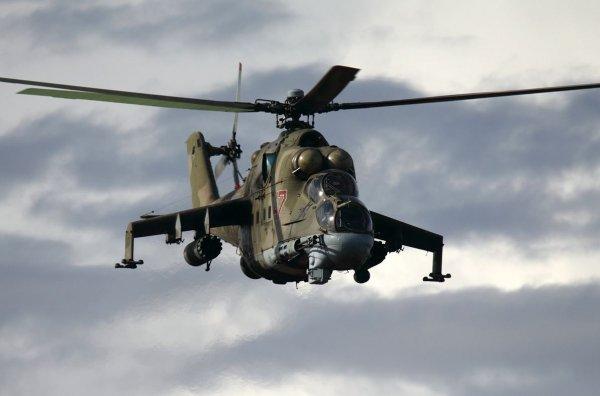 Минобороны РФ сообщило о причинах крушения вертолета Ми-24 в Сирии