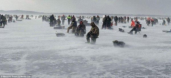 В Самарской области мужчина насмерть вмерз в лед