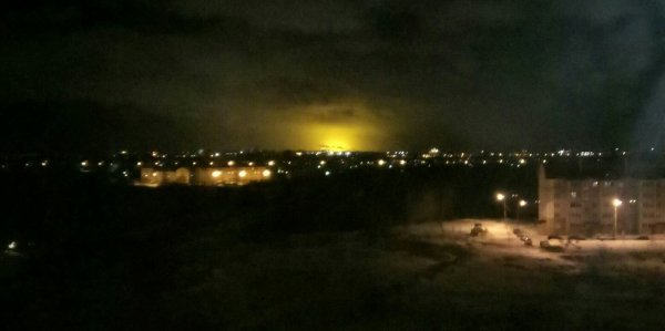 Раскрыты причины вспышки над Татарстаном