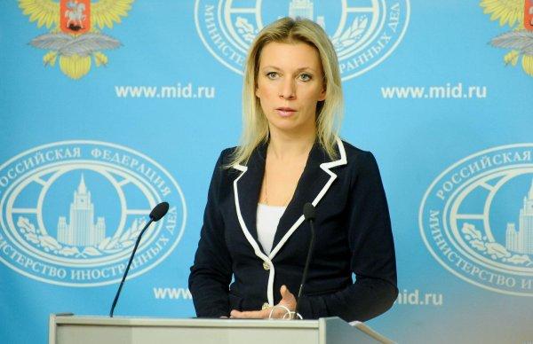 Захарова: Дед Мороз похищает граждан Украины на Тверской