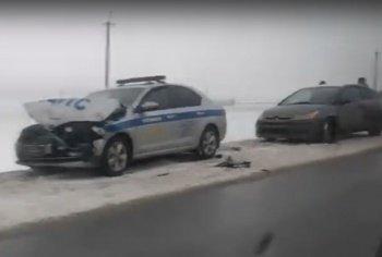 Погоня с полицейскими под Ростовом закончилась тараном
