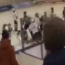 На матче во Владикавказе детские хоккейные команды устроили массовую драку