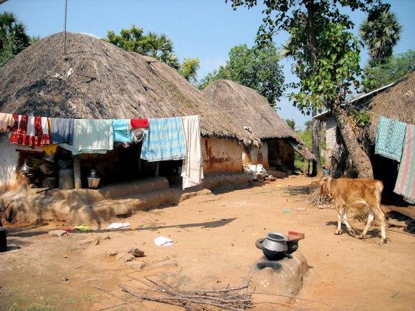 На индийскую деревню упал загадочный ледяной шар с фекалиями