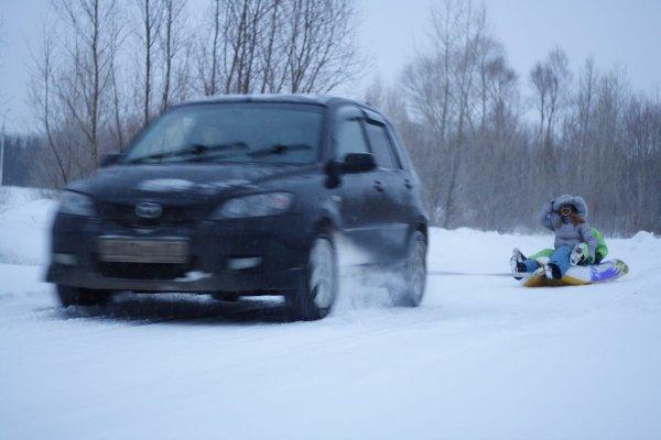 В Ростове оштрафовали водителя за катание пассажаров на камере