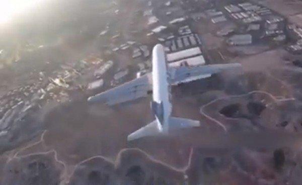 В США дрон чуть не сбил пассажирский самолёт