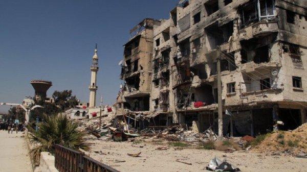 Дамаск обстреляли из минометов