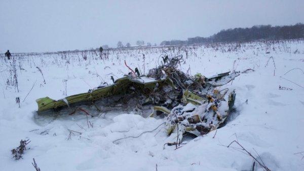 СМИ: Ан-148 столкнулся с землей на скорости 600 км/ч