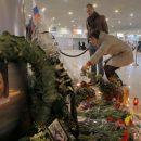 Литургия по умершим в крушении пассажиров Ан-148 прошла в «Домодедово»