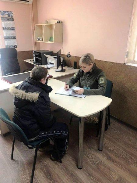 Украинец пытался на корточках сбежать в Польшу