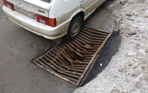 В Ростове появилась ловушка для автомобилей