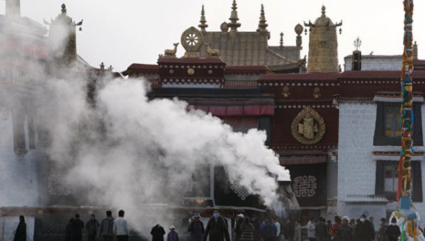 В Тибете горит объект всемирного наследия ЮНЕСКО