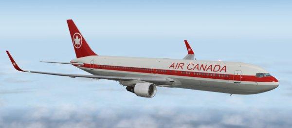 Самолет был вынужден вернуться в канадский аэропорт из-за возгорания