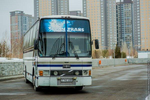 В автобусе, ехавшем в Москву, произошло задымление
