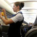 «Жена депутата» устроила скандал на борту самолета