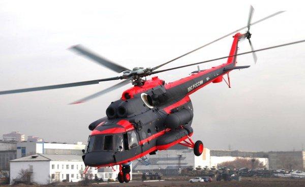 Из-за срочного приземления Ми-8 в Красноярском крае пострадал человек