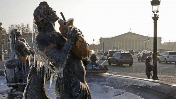 Во Франции из-за аномальных холодов замерзли насмерть три человека