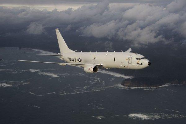 В США экипаж военного самолета замерз и