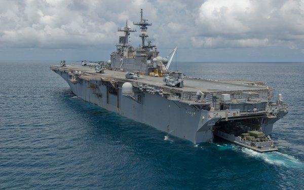 В Средиземное море вошла группа десантных кораблей ВМС США