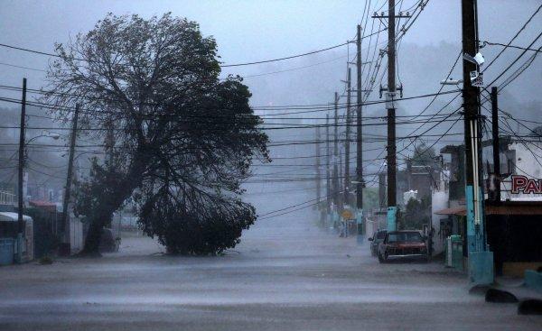 В США 2,2 млн человек остались без электричества из-за шторма