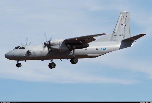 В Сирии на месте падения Ан-26 нашли черный ящик