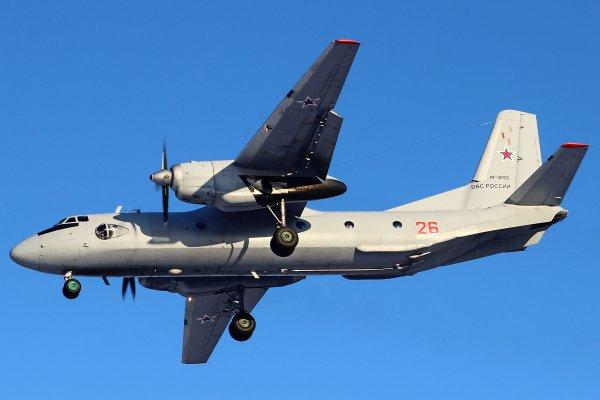 Разбившимся в Сирии Ан-26 управлял пилот 1-го класса