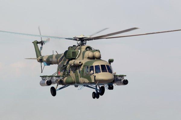 Появились подробности крушения Ми-8 на границе Чечни и Грузии