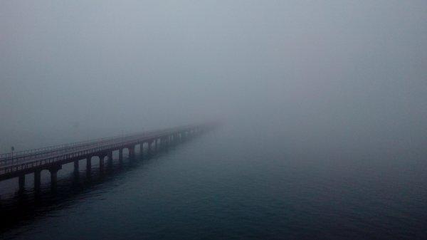 Керченская переправа временно не работает из-за тумана
