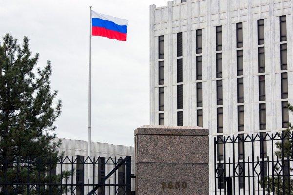 Американец пытался пробраться на территорию посольства РФ в Вашингтоне