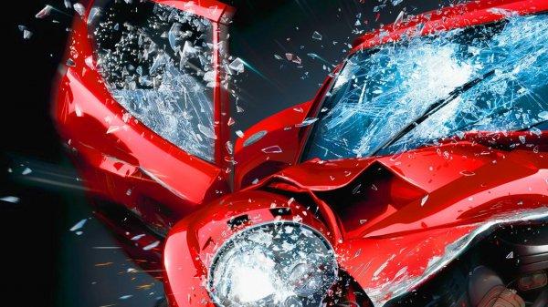 Машину с ребенком раздавило на Мурманском шоссе
