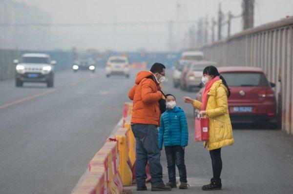 В Пекине ввели «оранжевый» уровень тревоги из-за смога