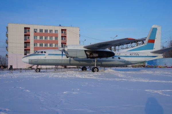 Грузовой самолёт при вылете из Якутска потерял створку люка