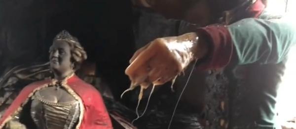 Пожар превратил музей восковых фигур Красноярска в комнату страха