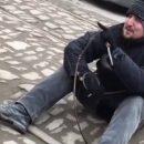 В Ростове буйный псих бросался с ножом на виртуального врага