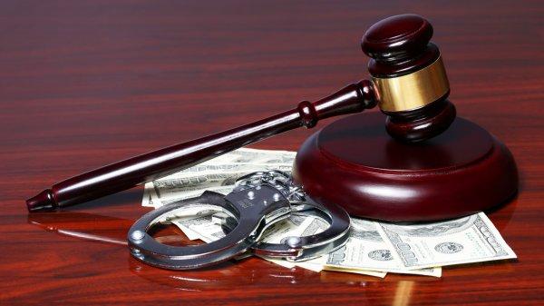 Судья был пойман на взятке за отмену приговора
