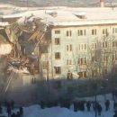 В Мурманске при взрыве газа рухнул жилой дом