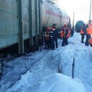 Сошедший с рельс вагон поезда в депо в Самарской области убил двух человек
