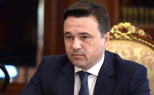 Андрей Воробьев прибыл в Волоколамский район для осмотра полигона «Ядрово»
