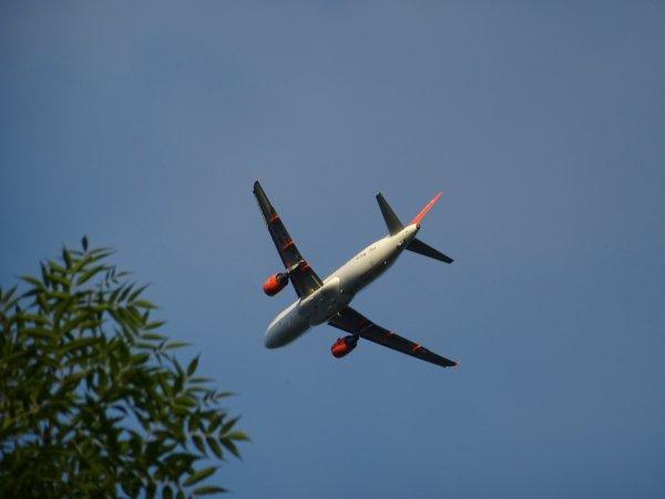 В небе над Екатеринбургом пилота самолёта ослепили лазером