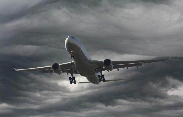 «Кокаиновый самолет» сделал странный маневр над аэропортом в Петербурге