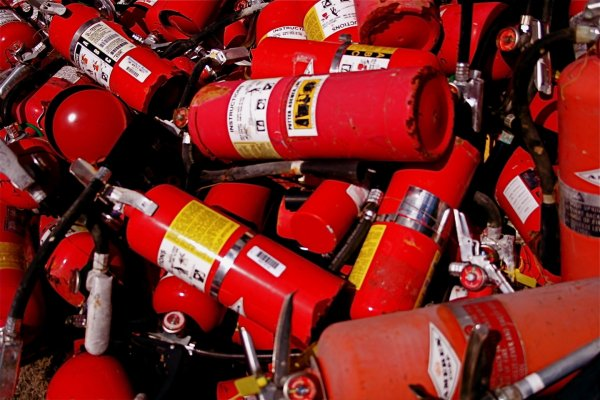 Источник: В сгоревшем ТЦ в Кемерово не было огнетушителей