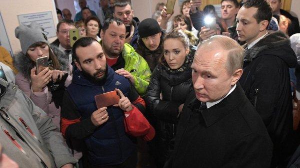 Путин призвал не верить данным в соцсетях про количество жертв в Кемерово