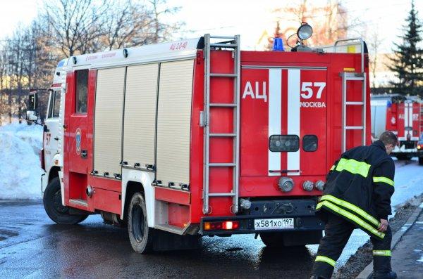 В Москве загорелся ТЦ «Свиблово», идет эвакуация