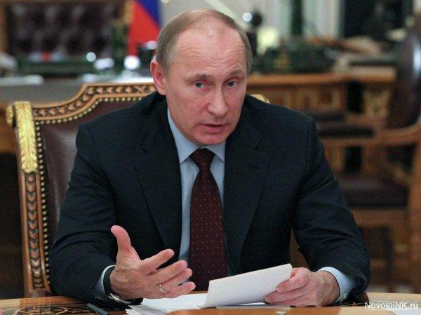 Путин рассказал о вбросах из-за рубежа о трагедии в Кемерове