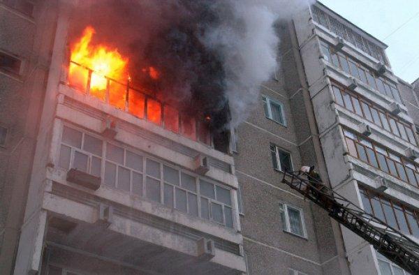У читателей нервный тик: В Кемерово опять тушили пожар