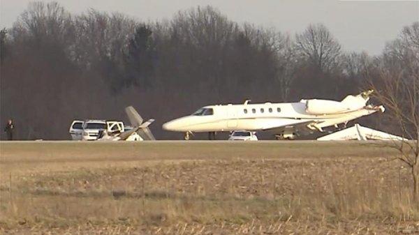 Два человека погибли при столкновении самолетов в аэропорту Индианы