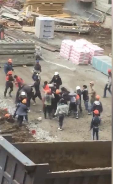 Строительство жилого комплекса в Краснодаре обернулось массовой дракой