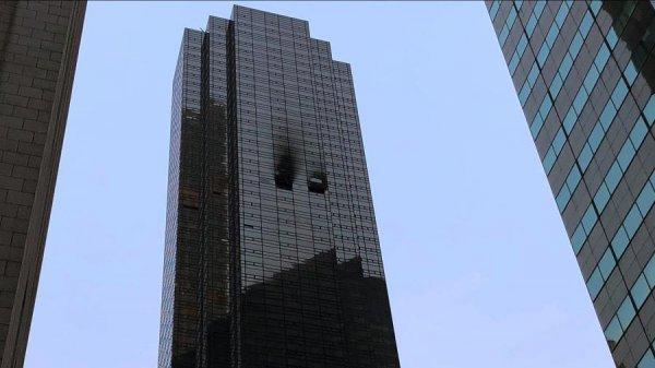 СМИ: В горевшей Trump Tower отсутствовала система пожаротушения