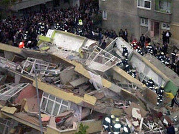 В Кургане в здании торгового центра произошло обрушение межэтажных перекрытий