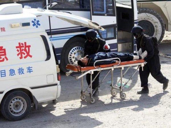 В Китае после взрыва грузовика без вести пропали семь человек